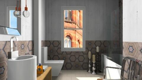 Kaleidoscope Bathroom - Modern - Bathroom - by 3rdfloor