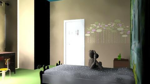 Jungleee - Country - Bedroom - by Jesie