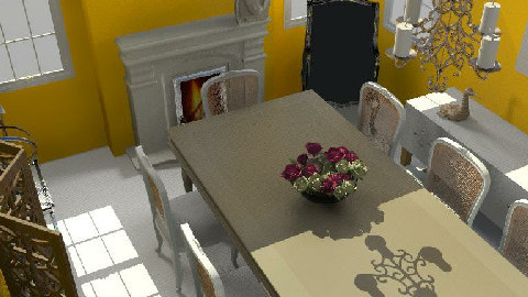 My Dining Room - Dining Room - by crystal aston