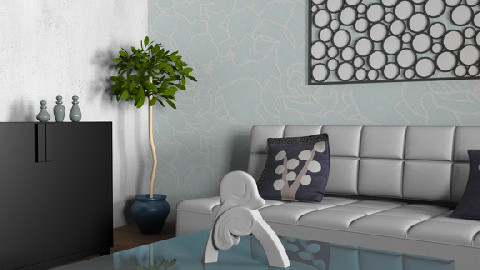 chic 3 - Retro - Living room - by suh95