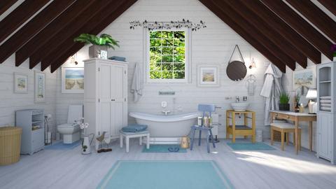 Attic Bathroom  - Bathroom - by Kelly Carter