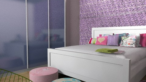 teen room - Eclectic - Bedroom - by shelleycanuck