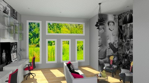 black history office - Eclectic - Office - by dezhero