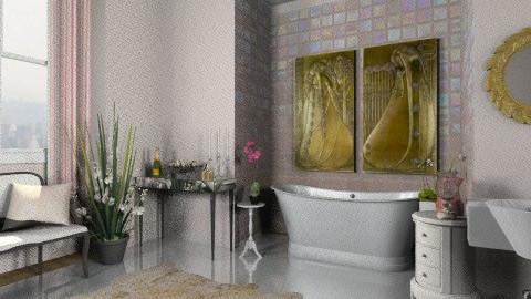 pinkkkie - Bathroom - by rosiedoll