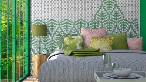 Simple leaf - Bedroom - by Liu Kovac