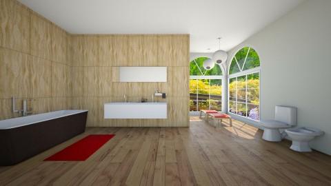 Bathroom 2 - Bathroom - by Cassandra Cafone Wright