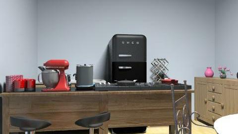 cozinha retro 2 - Retro - Kitchen - by madal_23