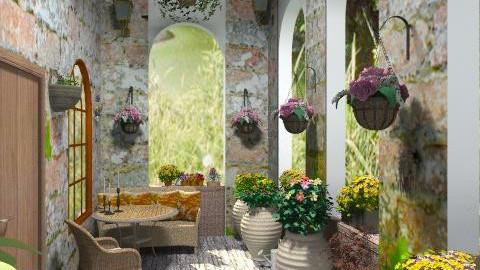 old balcony - Garden - by janetski2
