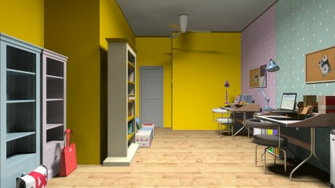 our study room - Office - by cutegirldesign