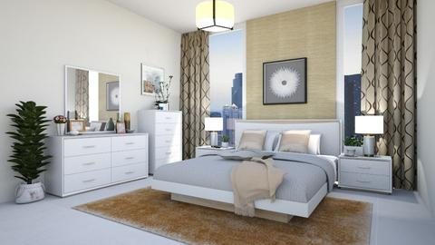Crescent Master Shj - Bedroom - by arkitekturaUAE