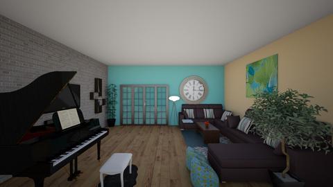 Living room - Modern - Living room - by tguha