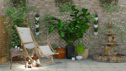 Cuban - Garden - by creato