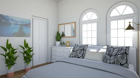 Modern Bedroom  - by rachelcassy