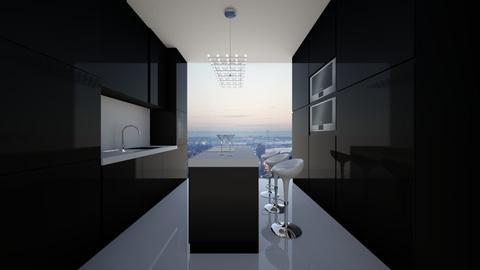 NY Kitchen - Modern - Kitchen - by deleted_1565009666_athinaste