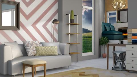 Geo Modern  - Modern - Living room - by Jessica Fox