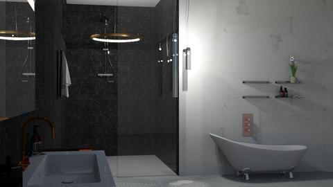 Underground Bath - Glamour - Bathroom - by _Wanderlust_