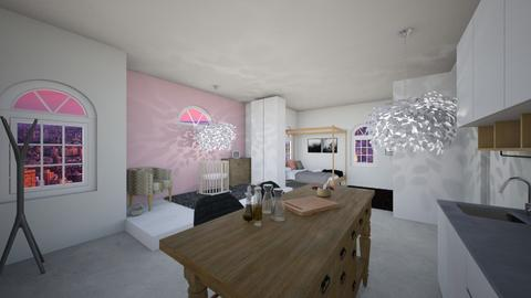 new york loft - Bedroom - by makaylalijahj