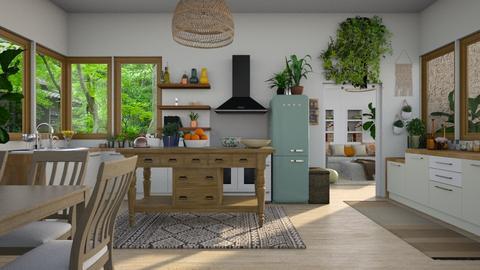 Boho Kitchen - Kitchen - by Sarah Anjuli