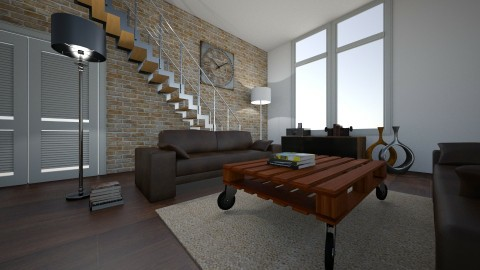 living room - Retro - Living room - by naominaomi