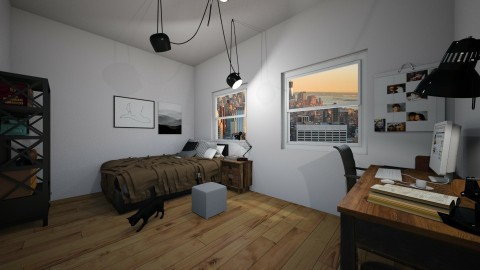 cozy nyc appartment - by just a weirdo who likes to create r