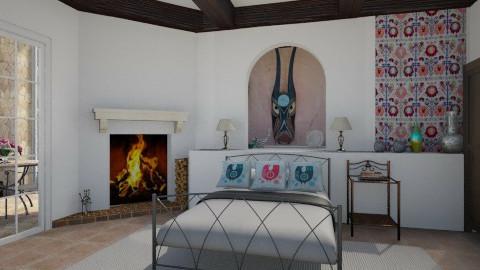 Rustic Retreat - Rustic - Bedroom - by giulygi