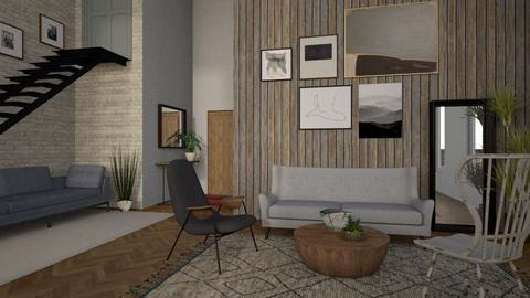 mezzanine apartament - Modern - Living room - by tolo13lolo