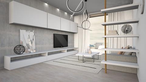 minimalism LR - Living room - by Liu Kovac