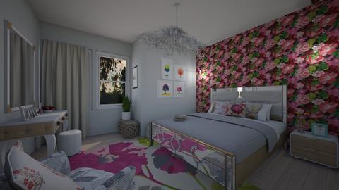 verao florido - Bedroom - by Tainaraa