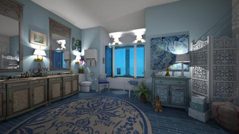 boho bath - Bathroom - by hillygabe