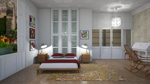 Old and new mix - Eclectic - Bedroom - by augustmoon