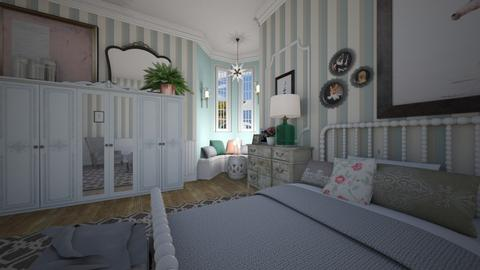 Turret Bedroom - Bedroom - by sissybee