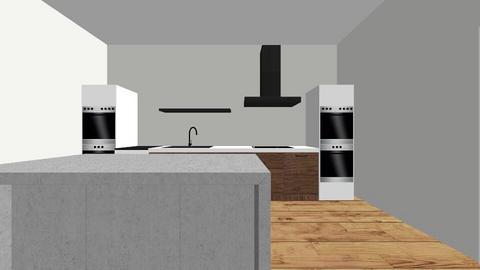 Kitchen Brean Down - Kitchen - by rossnd1979