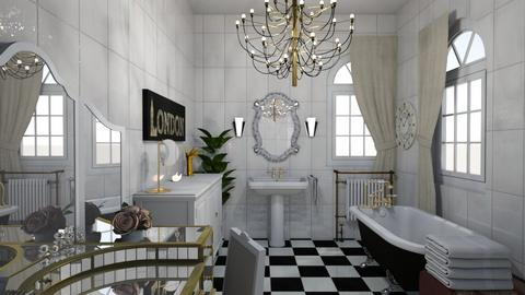 chic bath - by shistyle