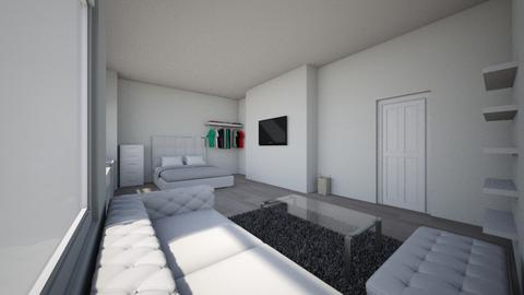 MY NEW BEDROOM - Glamour - Bedroom - by amyharold