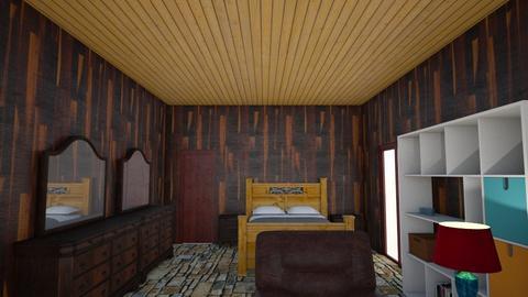 mybedroom 5 - Rustic - Bedroom - by wattenbach