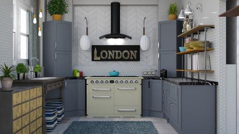 Eclectic Kitchen - Eclectic - Kitchen - by jjp513
