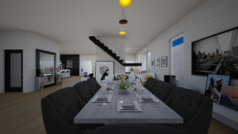 SIDE GARDEN - Dining room - by flacazarataca_1
