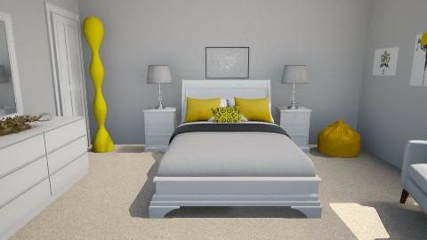 Yellow - Bedroom - by katy96xx