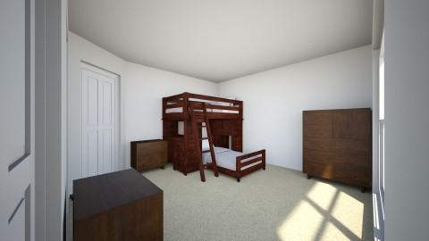 Twins Room - Bedroom - by cnivatop