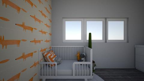 oh la la orange - Minimal - Kids room - by homouse