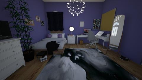 Dreams - Bedroom - by Kaylee Mahr
