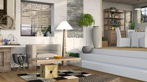 Neutrals 7 - Living room - by Sally Simpson