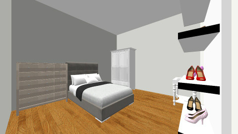 teenage bedroom - Bedroom - by mikaela minko
