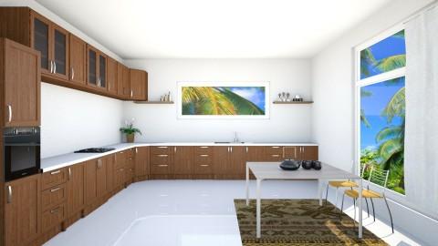 Simple Kitchen - Retro - Kitchen - by anniecleetus