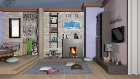 nsokcnsakcnsanc - Living room - by InaJ