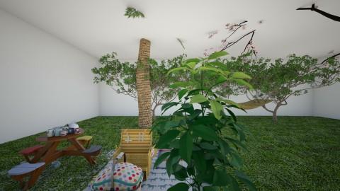 superroom - Garden - by zehraturanlool