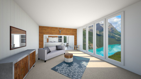 Modern View - Living room - by Katie Kins