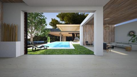 outdoor - Modern - Garden - by tolo13lolo