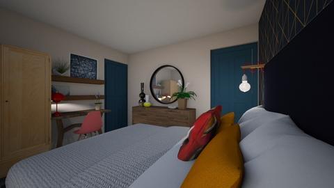 Bedroom One PEACH - Bedroom - by inkyminkinteriors