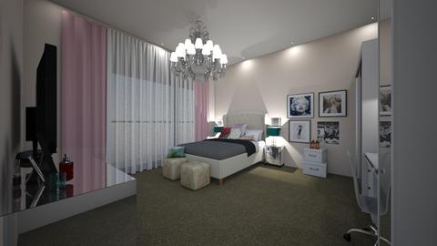 new bedroom - Glamour - Bedroom - by Stephanie Felix